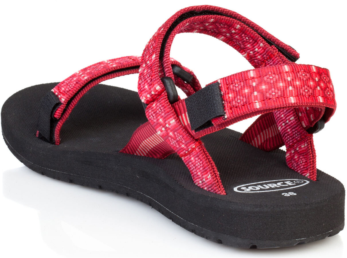 7d54933b8a SOURCE Classic Sandalias Mujer, tribal red | Campz.es